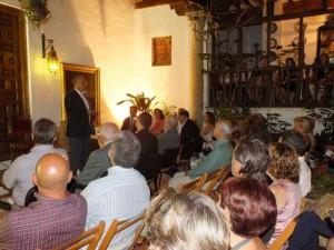 Activdad en la sala Jacinto Rega, Casa Pintor Julio Visconti.