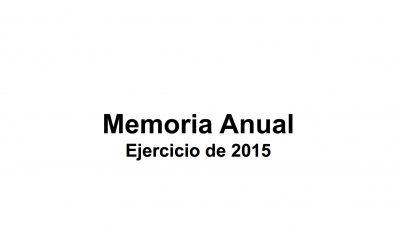 Memoria2015