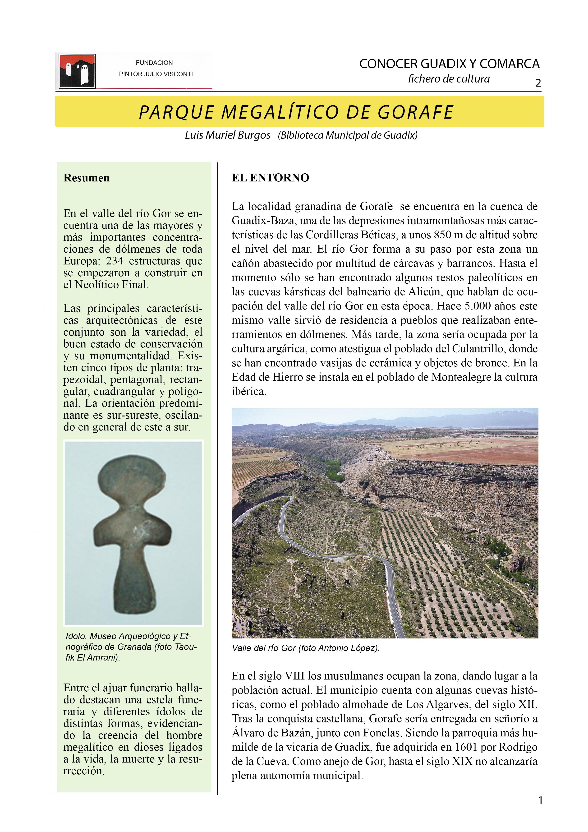 Parque megalítico de Gorafe 1 Definitiva