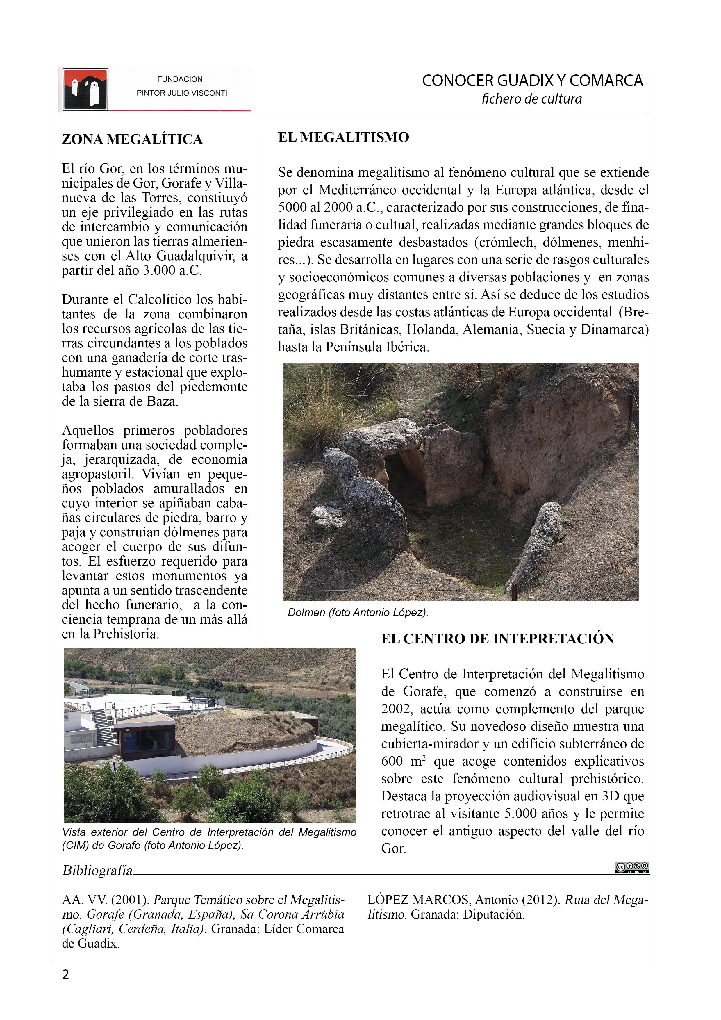 Parque megalítico de Gorafe 2 Definitiva