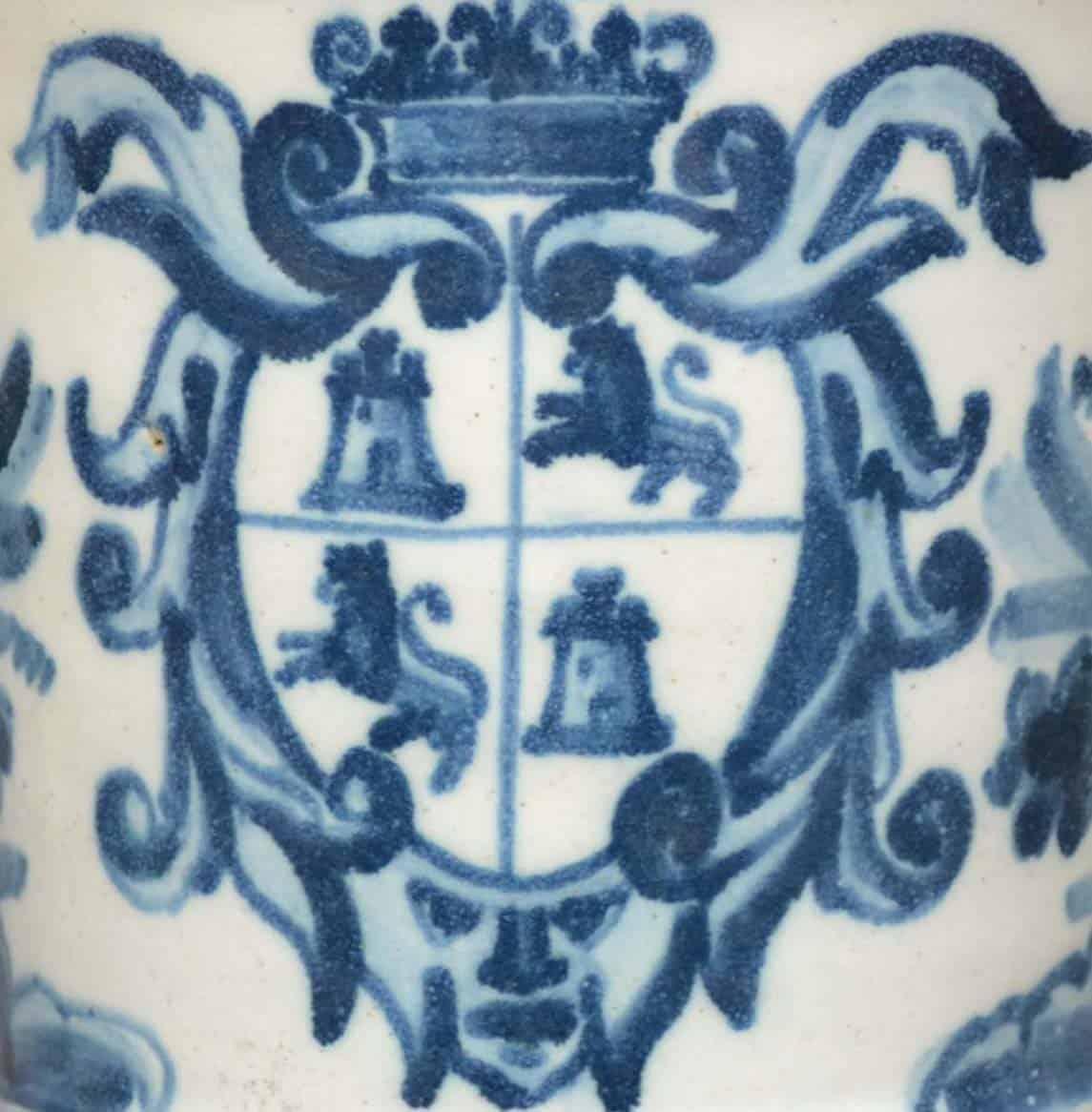 Detalle de la cartela heráldica