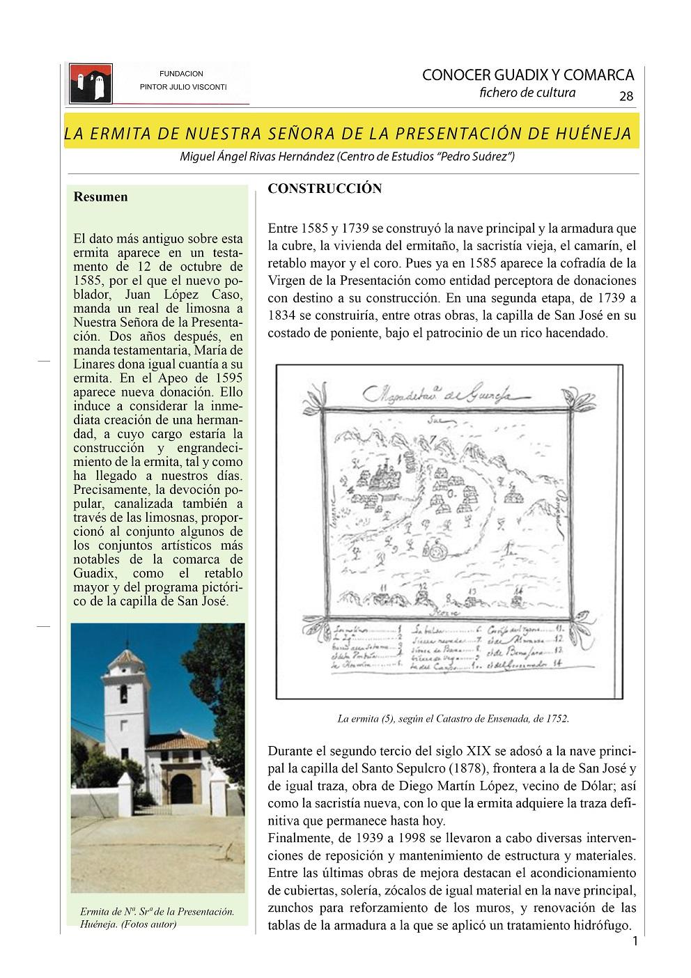 Ermita de Huéneja 1 A