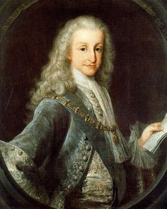 Retrato de Luis I de Miguel Jacinto Meléndez, 1724. Colección particular, Vizcaya