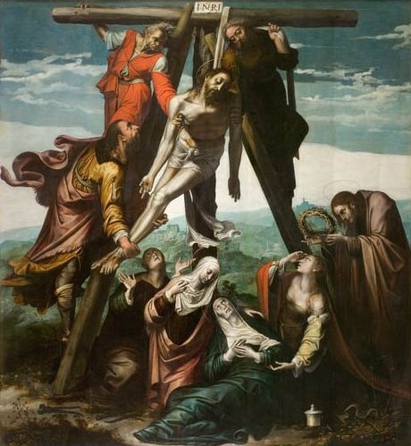 Pedro de Campaña El Descendimiento de la Cruz c. 1537-1538 Iglesia de la Santa Cruz de Sevilla