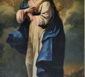Inmaculada anonimo s. XVIII-min