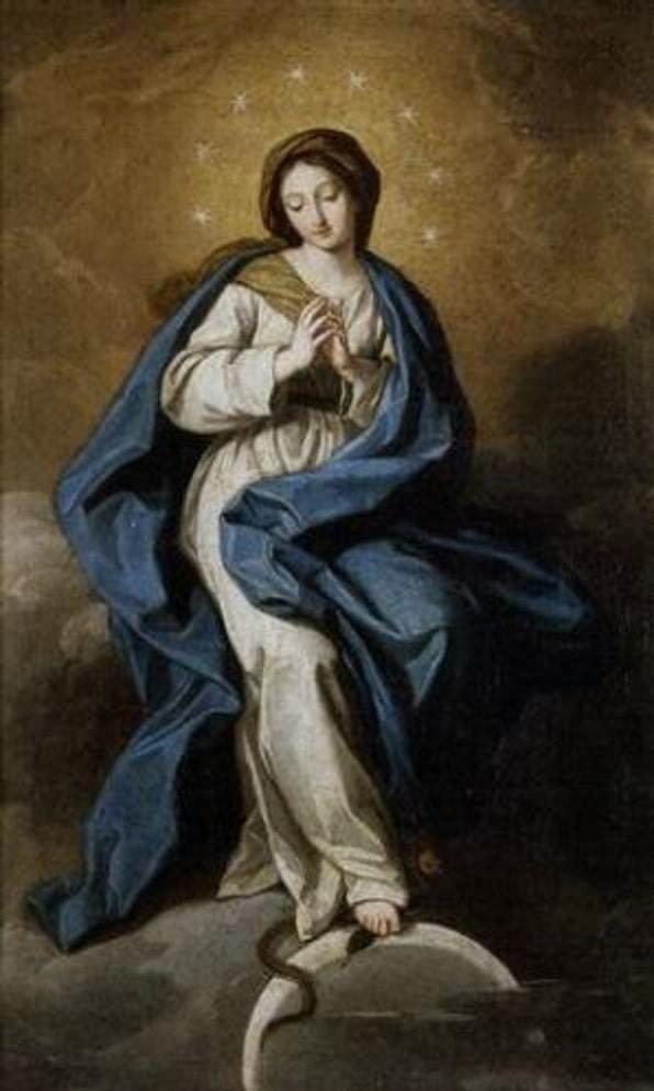 Inmaculada. Francisco Bayeu [mercado del Arte]