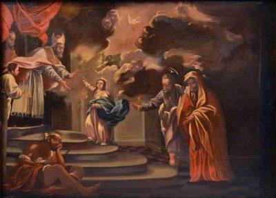 1.  Presentación de la Virgen en el templo