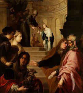 10. Juan de Sevilla. Presentación del la Virgen, c. 1670. Museo del Prado
