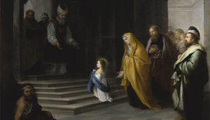 15. Bartolomé Esteban Murillo. Presentación de la Virgen, 1680. Mercado del Arte