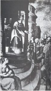 8. Pedro de Raxis. Presentación de la Virgen, 1615-16. Retablo de santa Ana, Catedral de Granada