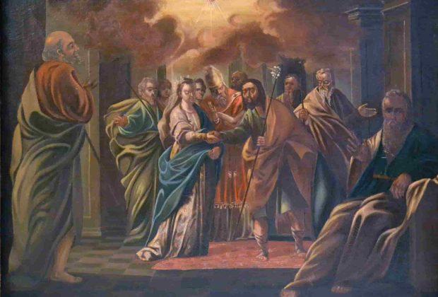 1. Desposorios de la Virgen