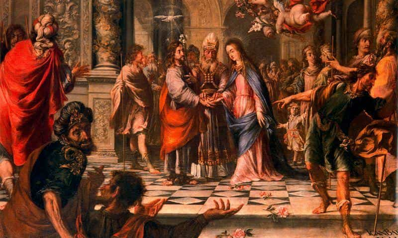 3. Juan Valdés Leal. Desposorios de la Virgen, 1657. Catedral de Sevilla