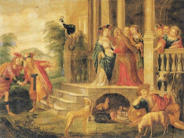 10. Peeter Sion. Visitación, segunda mitad del s. XVII. Catedral de Málaga