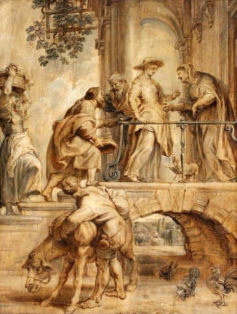 "7. Pedro P. Rubens. ""Modelo"" para la Visitación, 1632-34. Galería Nacional de Praga"