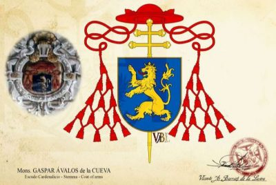 Escudo Gaspar de Ávalos