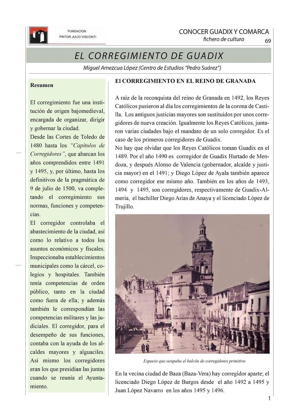 El corregimiento de Guadix 1-min